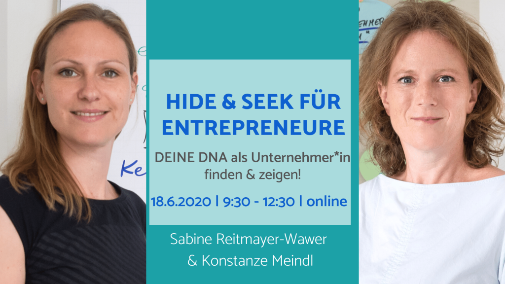 Impulsworkshop Hide and Seek für Entrepreneure