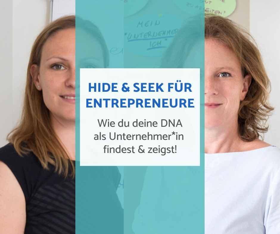 Hide and Seek Workshop für Entrepreneure