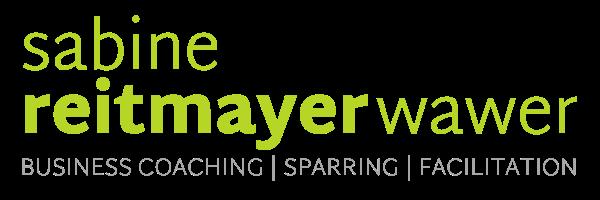 Logo Sabine Reitmayer-Wawer grün auf transparent